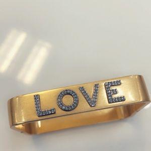 Tory Burch Message Bracelet  in LOVE